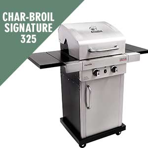 Char-Broil Signature TRU-Infrared 325 2-Burner Propane Gas Grill
