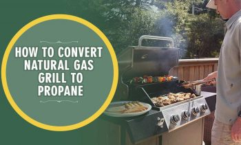 How To Convert Natural Gas Grill To Propane