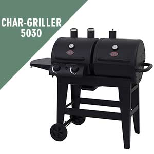 Char-Griller 5030 Gas & Charcoal Grill