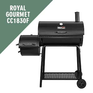 Royal Gourmet CC1830F Charcoal Grill with Offset Smoker
