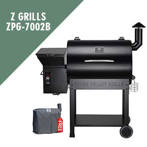 Z Grills ZPG-7002B Wood Pellet Grill and Smoker